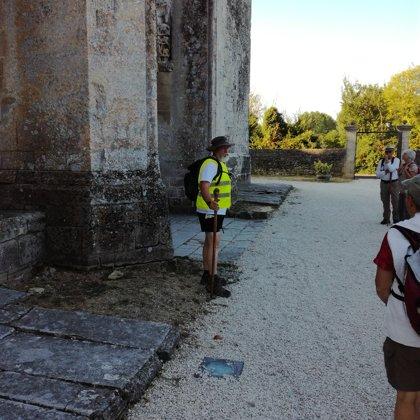 marche ded 20 ans du classement du chemin de Tours à l'UNESCO